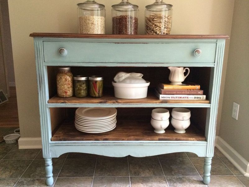 a less than perfect dresser, painted furniture, painting wood furniture