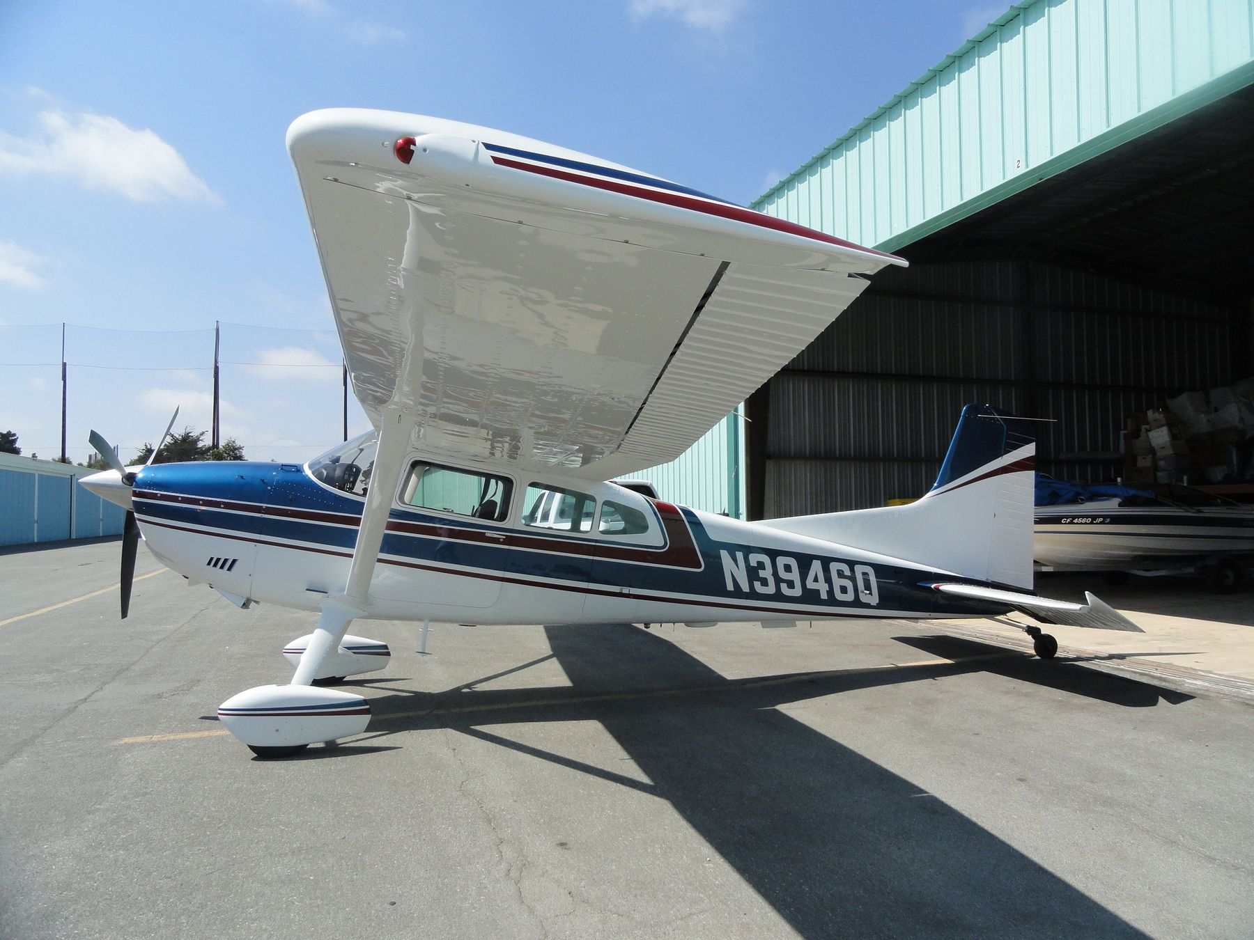1973 cessna a185f skywagon for sale details http www for Aircraft motors for sale