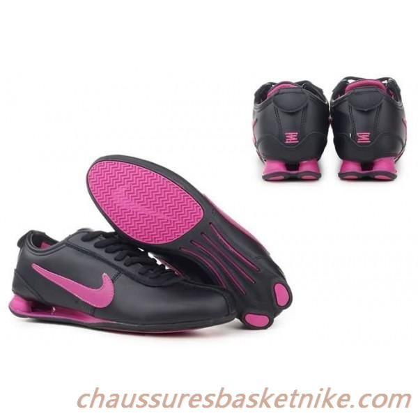 Nike Shox R3 Chaussure de course Rose Noir | Nike shox shoes ...