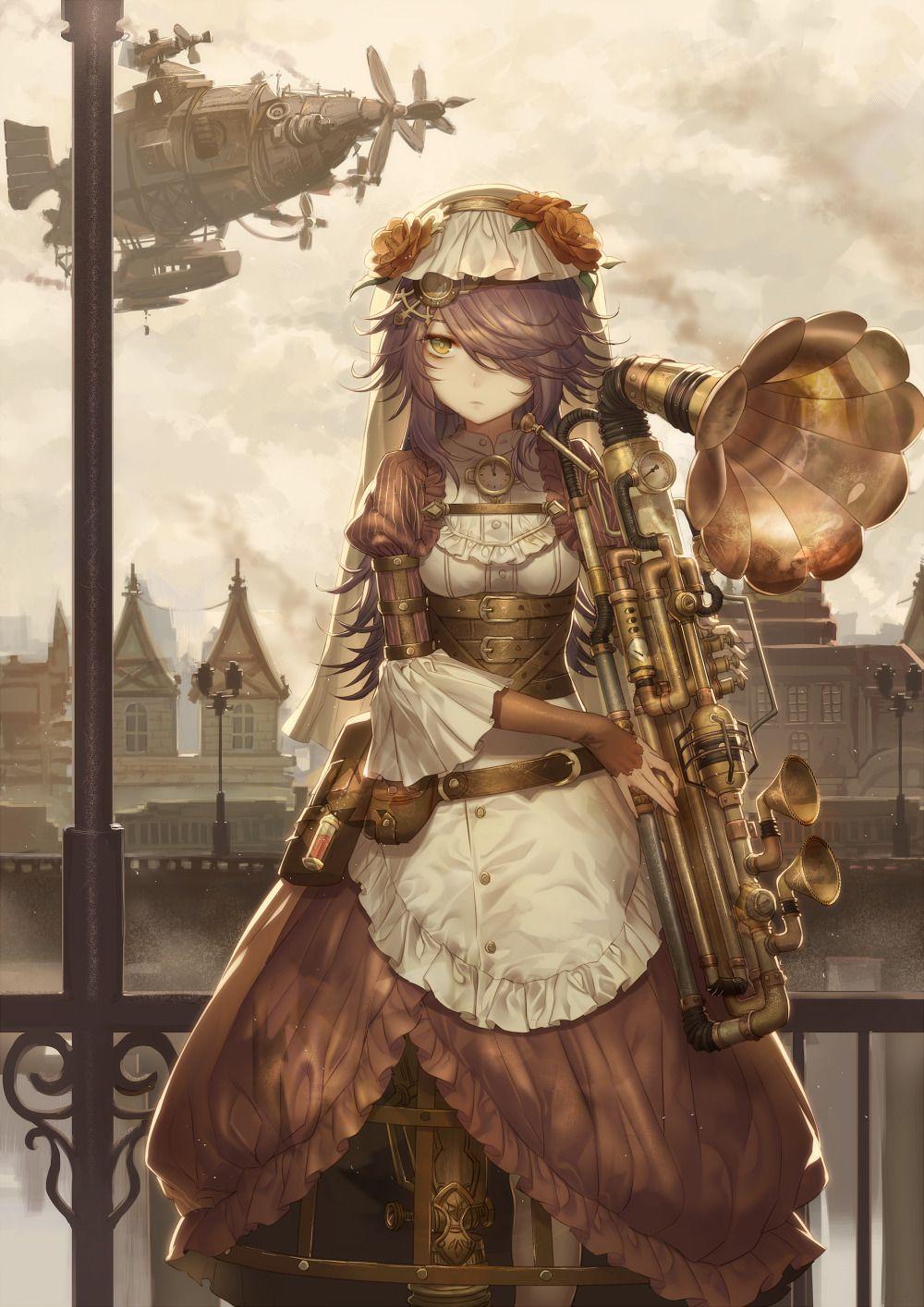 2016 機械仕掛けの演奏者 Performer Of Clockwork Steampunk