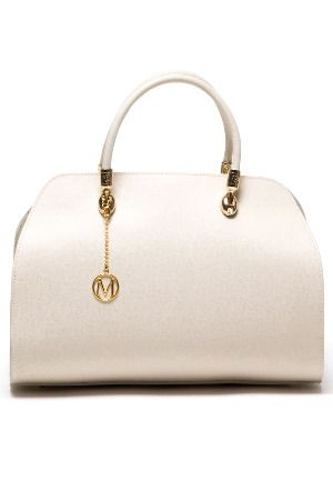 Valencia Handbag In Beige