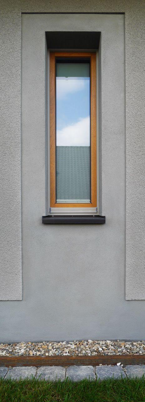 Wohnhaus Rauputz Glattputz Holzfenster Architekturburo Achterkamp In Steinfurt Holzfenster Glattputz Fenstergestaltung
