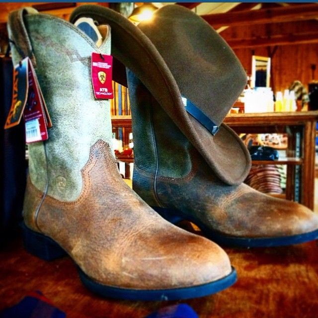 The Ranch at Rock Creek does custom boot fittings. These boots are destined to become someone's well-worn cowboy boots. | Philipsburg, Montana.