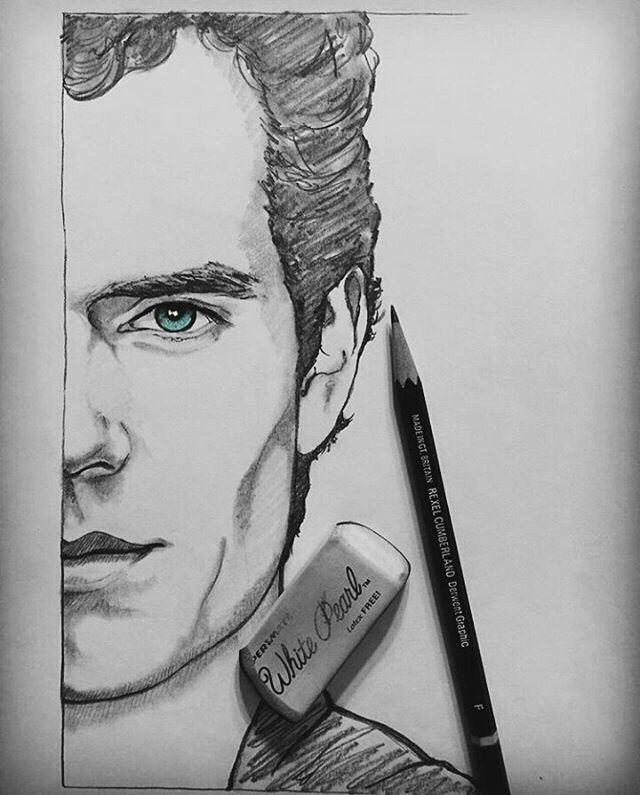 Draw Henry Cavill Drawing Henrycavill Superman Super Henry Marvel 2016 Dms Drawsuperman Nice Superman Drawing Superman Art Drawing Marvel Drawings