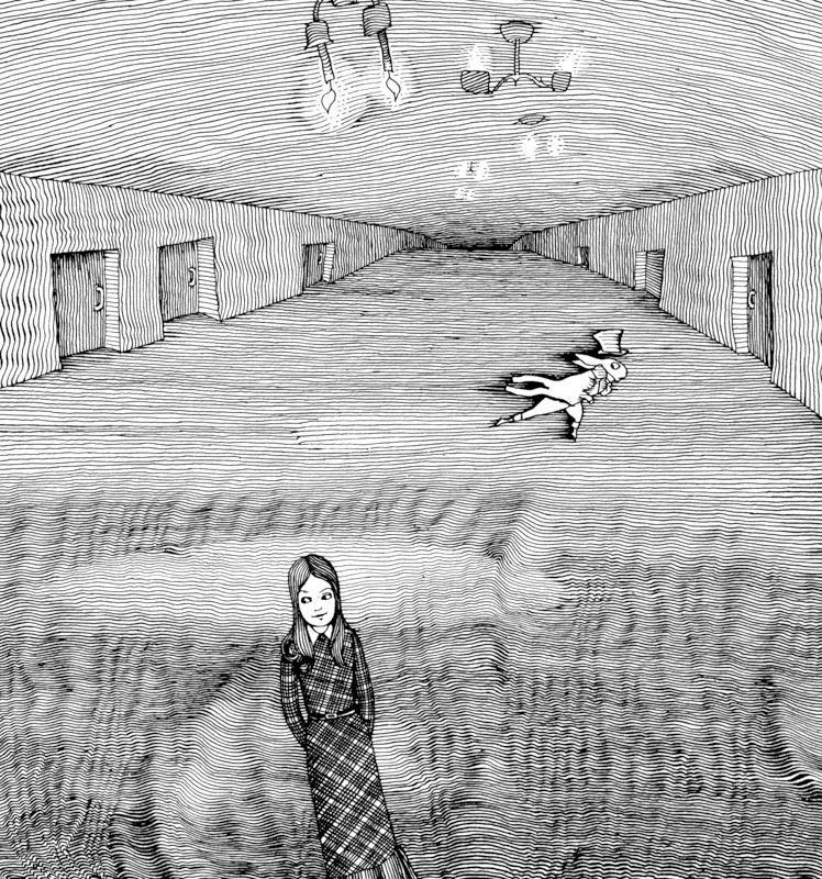 G.Kalinovskogo | ILLUSTRATION | Carroll L. Alice's Adventures in Wonderland fairy tale told by Boris Zakhoder