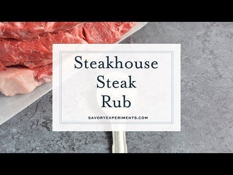 Steakhouse Steak Rub is a secret recipe that I received from a friend at a 5-sta... - #friend #received #recipe #secret #steak #steakhouse - #DryRubs