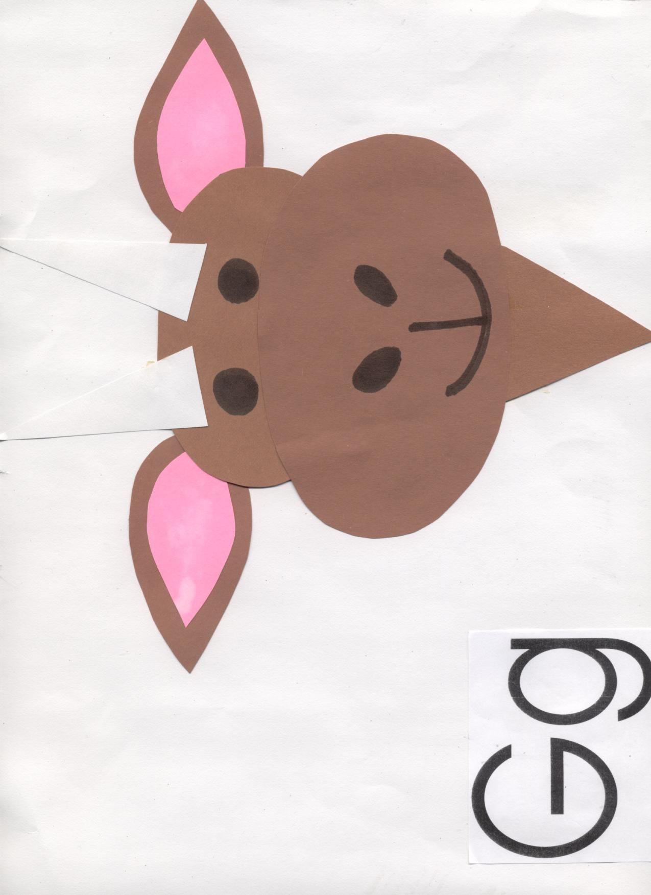 Letter G Goat Craft Preschool