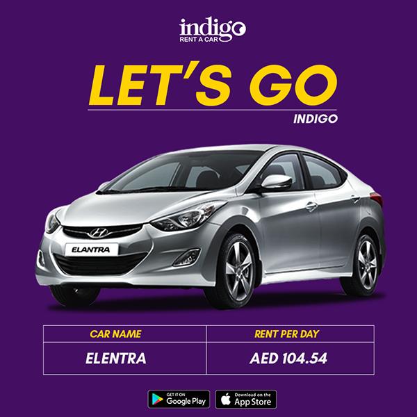 Poster Design Indigo Rent A Car Dubai On Behance Rent A Car Best Car Rental Deals Car