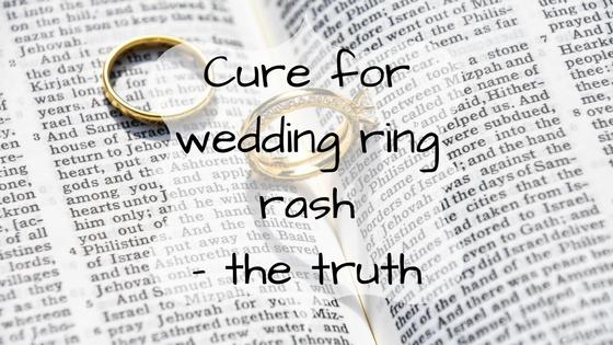 Cure for wedding ring rash ebonys mum ebonys mum blog cure for wedding ring rash ebonys mum junglespirit Gallery