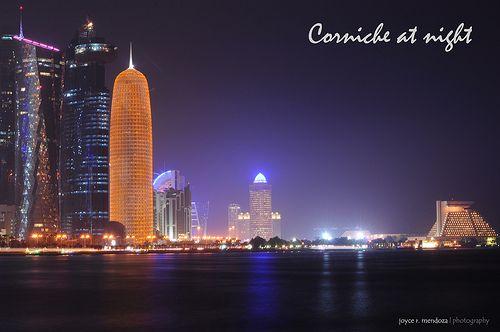 Corniche at Night
