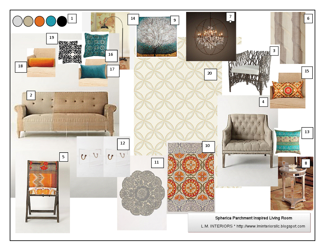 Warm And Cozy Dining Room Moodboard: Colours And Mood Boards