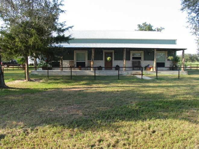 Barndominium ideas metal buildings barndominiums for Metal houses texas