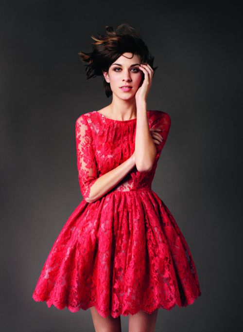 1000  images about Prom Dress Inspiration on Pinterest - Red lace ...