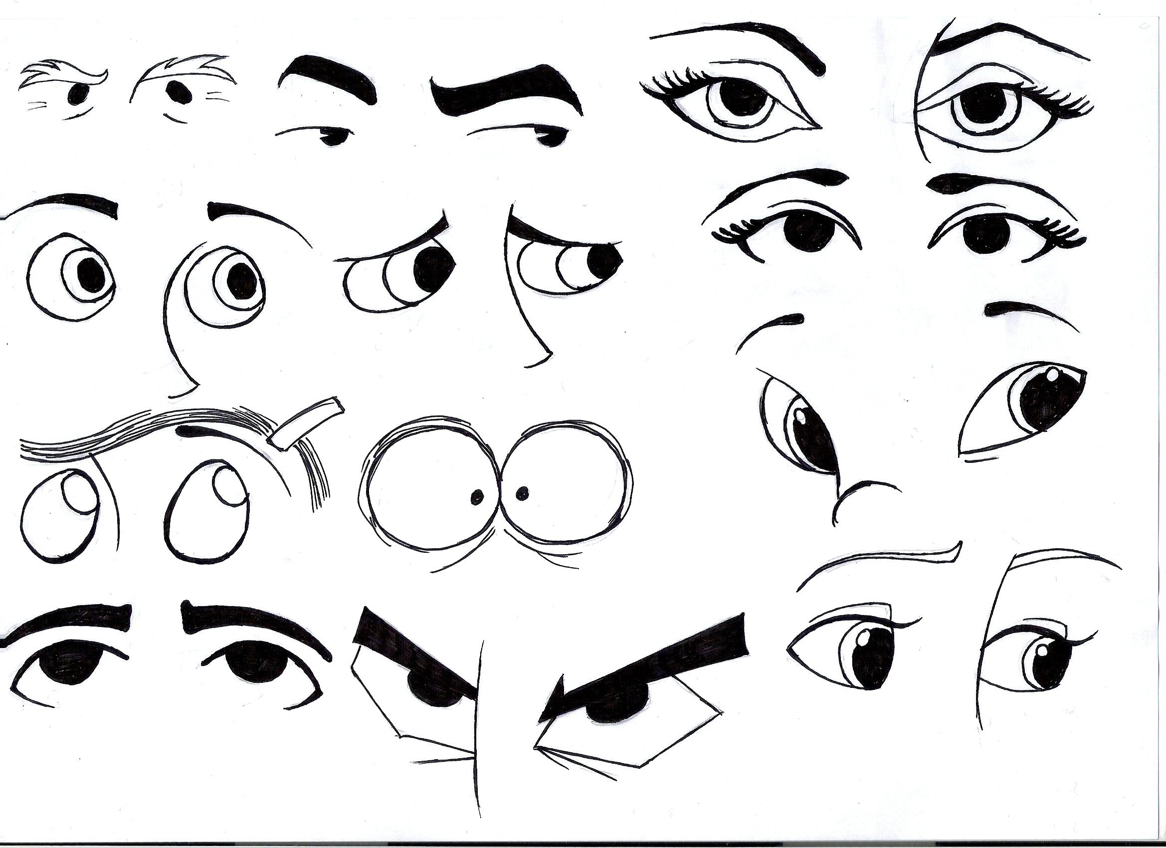 The Importance Of Eyes With Images Cartoon Eyes Cartoon Eyes