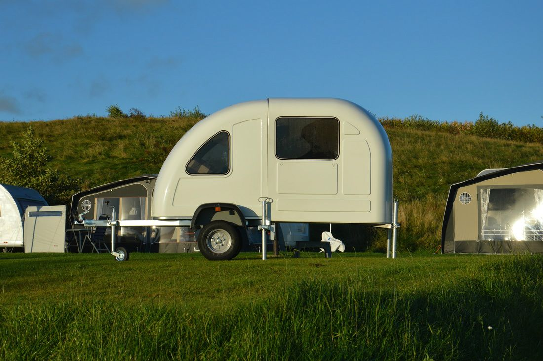 wide path camper launches foldable micro camper that can. Black Bedroom Furniture Sets. Home Design Ideas