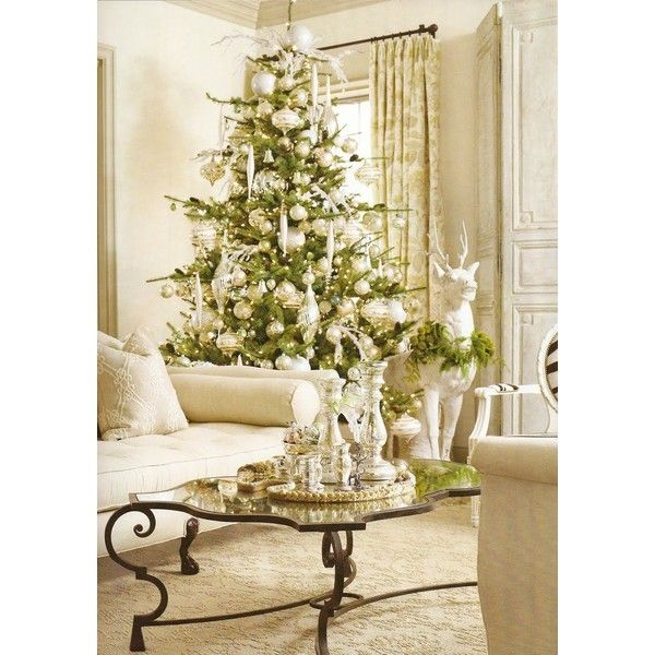 Decorating tips for a modern merry christmas ❤ liked on polyvore featuring christmas fillers