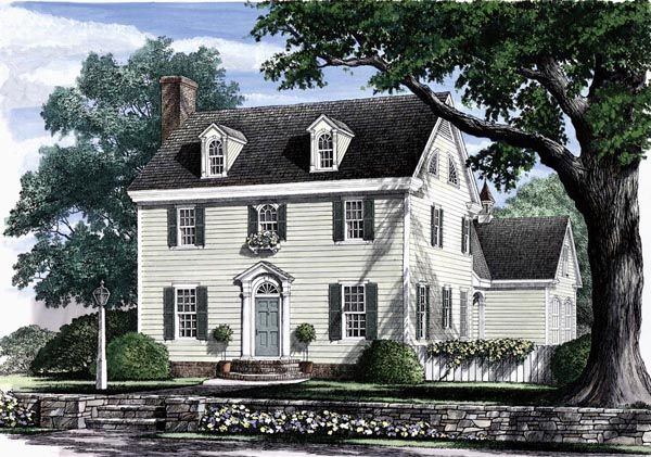 22 Home Favorite Floorplans Ideas Colonial House Plans Colonial House House Plans