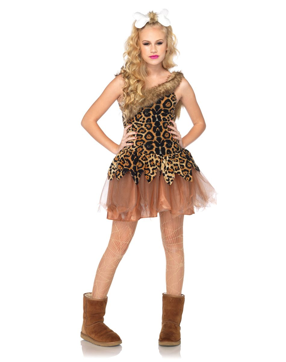 LEOPARD TUTUS DANCE// GOTH// CAVE GIRL FANCY DRESS PARTY