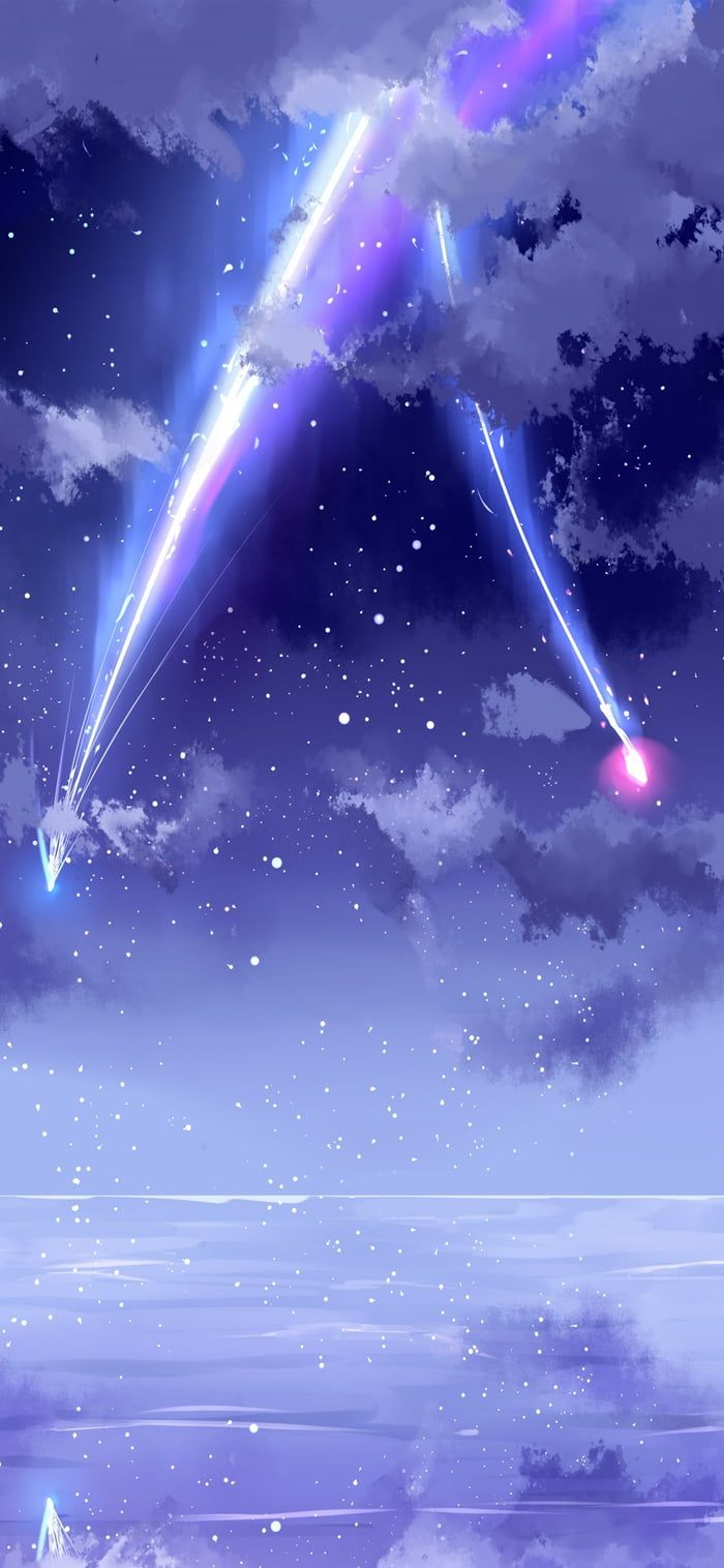 Your Name Pemandangan Anime Wallpaper Anime Pemandangan Khayalan