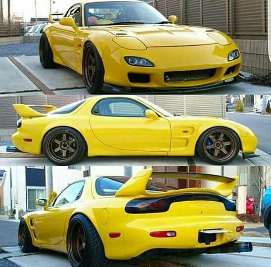 Mazda Cars, Japanese Sports Cars, Mazda Rx7