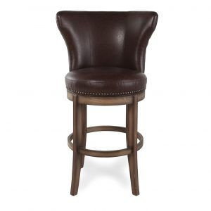 Dining Room Wood Swivel Bar Stools With Backs 32 Inch
