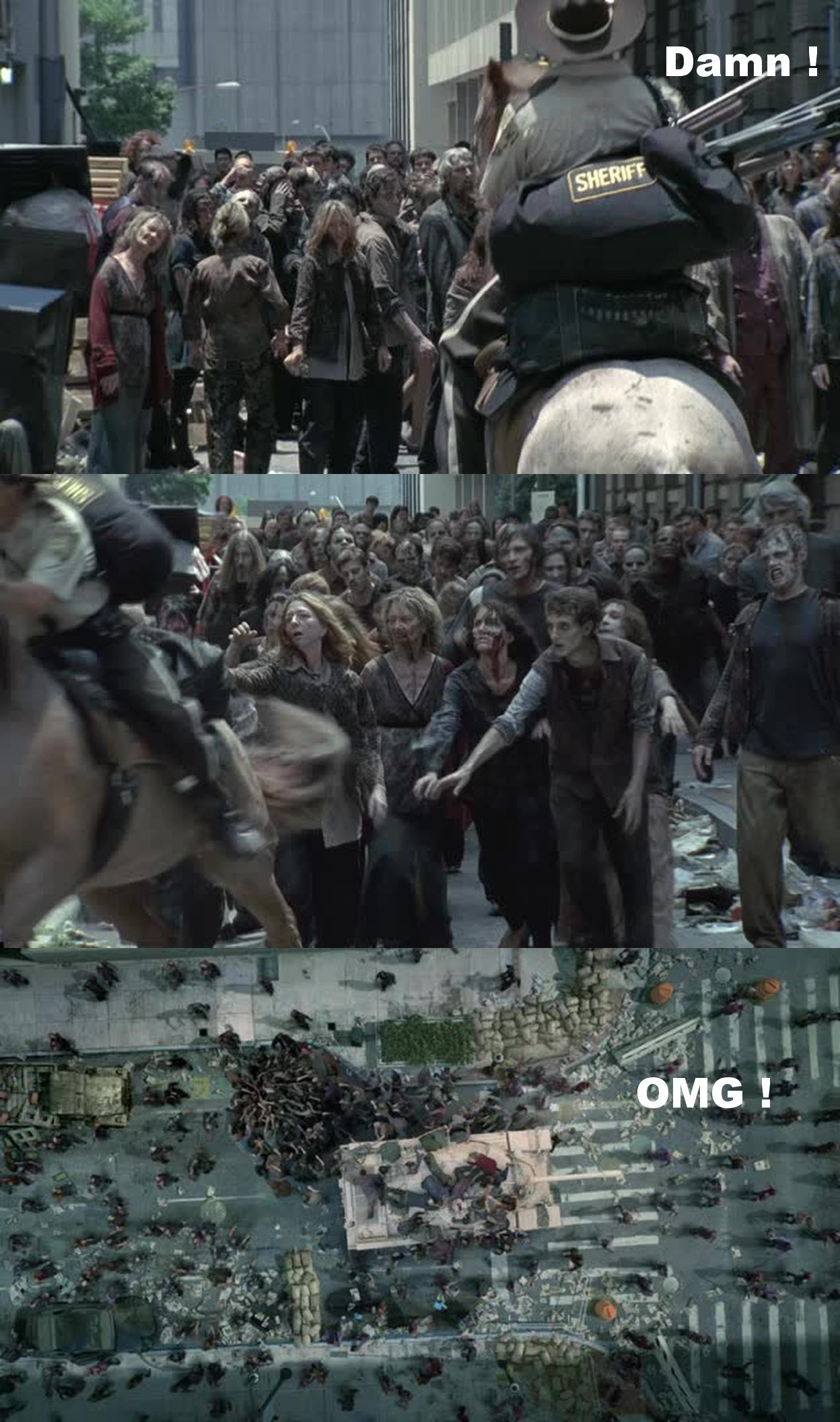 The Walking Dead S01e01 The Walking Dead Walking Dead Memes Dead