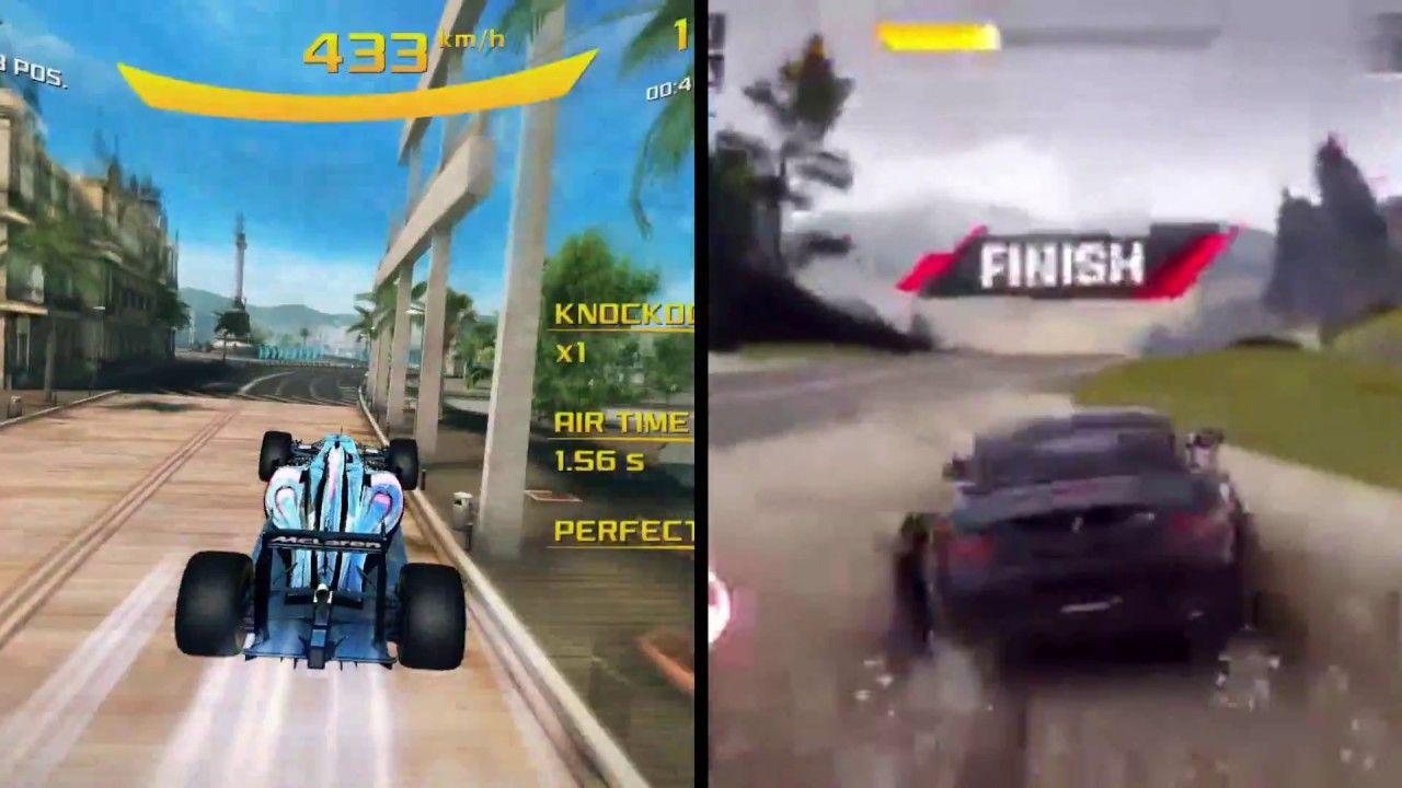 Which Is Best Asphalt 9 Legends Vs Asphalt 8 Airborne Asphalt 8 Airborne Asphalt Gameplay