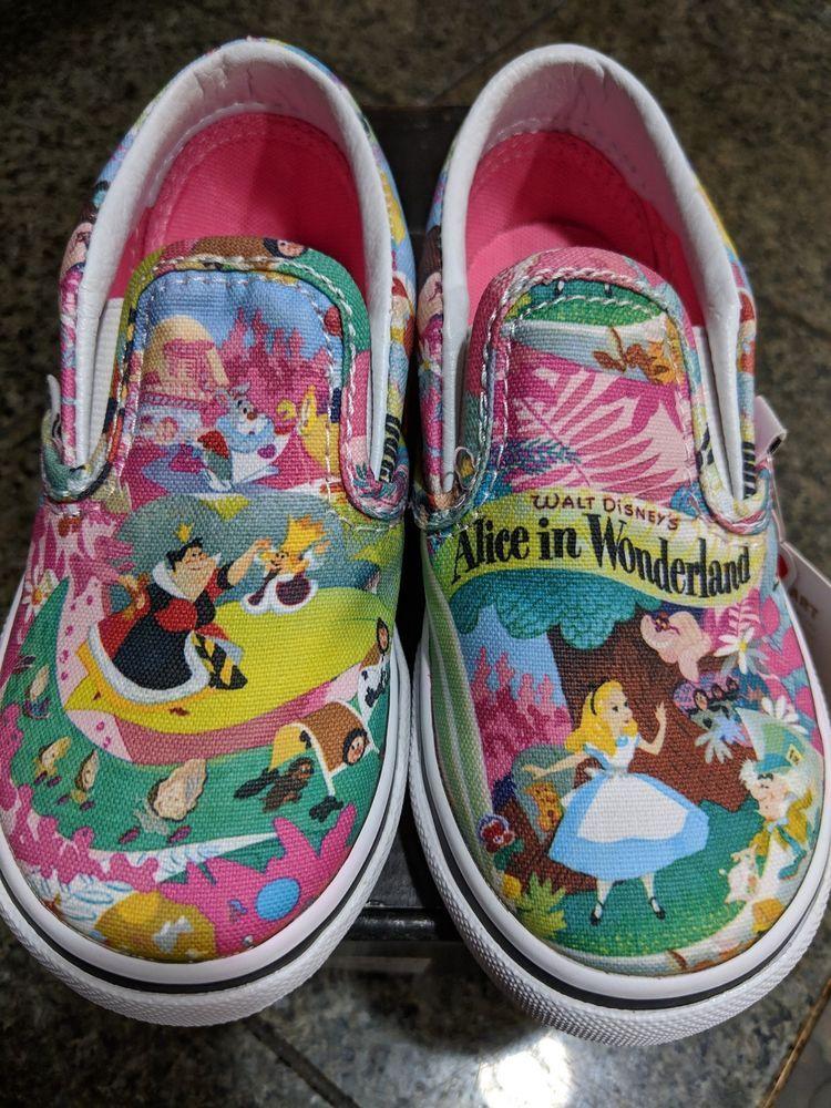 vans toddler shoes size 8