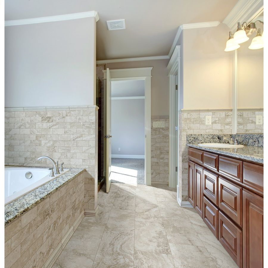 12x24 Porcelain Travertine Tile Lowe S Very Affordable Mudroom