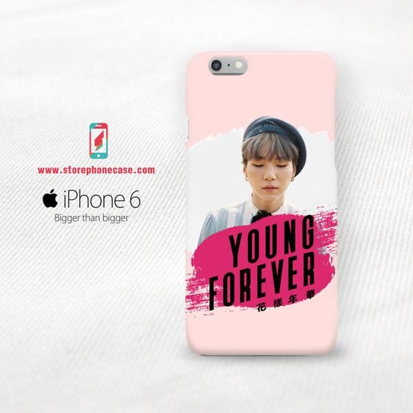 BTS SUGA YOUNG FOREVER IPHONE COVER SERIES