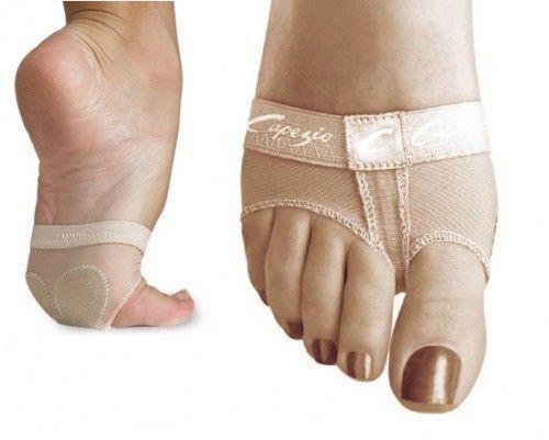 Capezio-H07-Nude-Footundeez-Girls-Ladies-Ballet-Dance-Gym-Lyrical-Foot-Thong