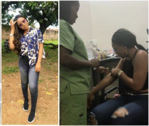 Nigeria Actress Regina Daniels Captured Crying After Injection Video Injections Social Media Network Spider Girl