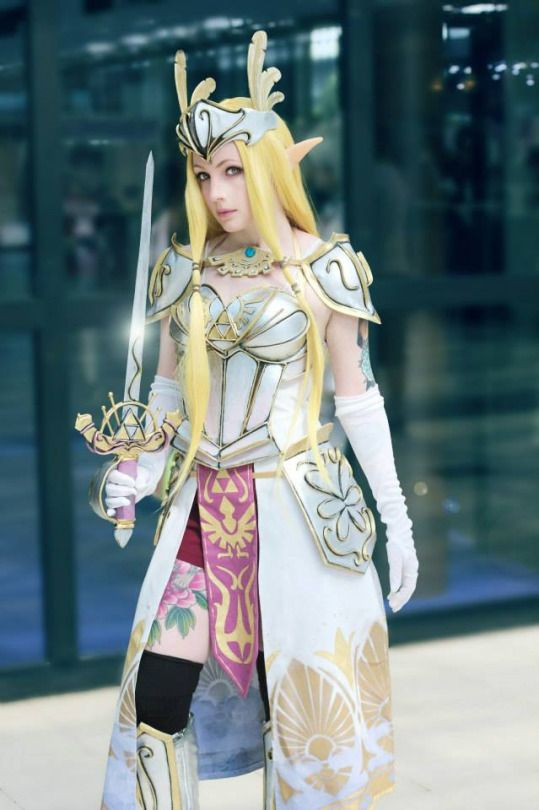 Zelda Hyrule Warriors Cosplay Alternate Costume By