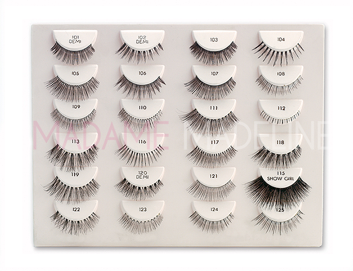Fake It Until You Make It with Ardell Natural Eyelashes.   See lash collection at http://www.madamemadeline.com/online_shoppe/products.asp?cat=Ardell+Natural+Eyelashes