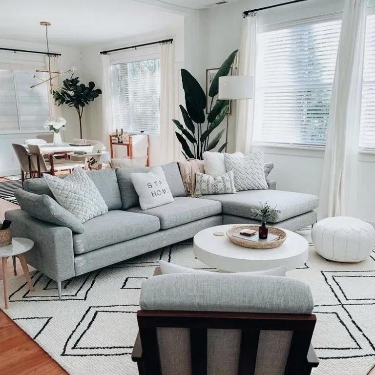 26 Cozy Modern Minimalist Living Room Designs Living Room Decor Apartment Small Apartment Decorating Living Room Small Apartment Living Room