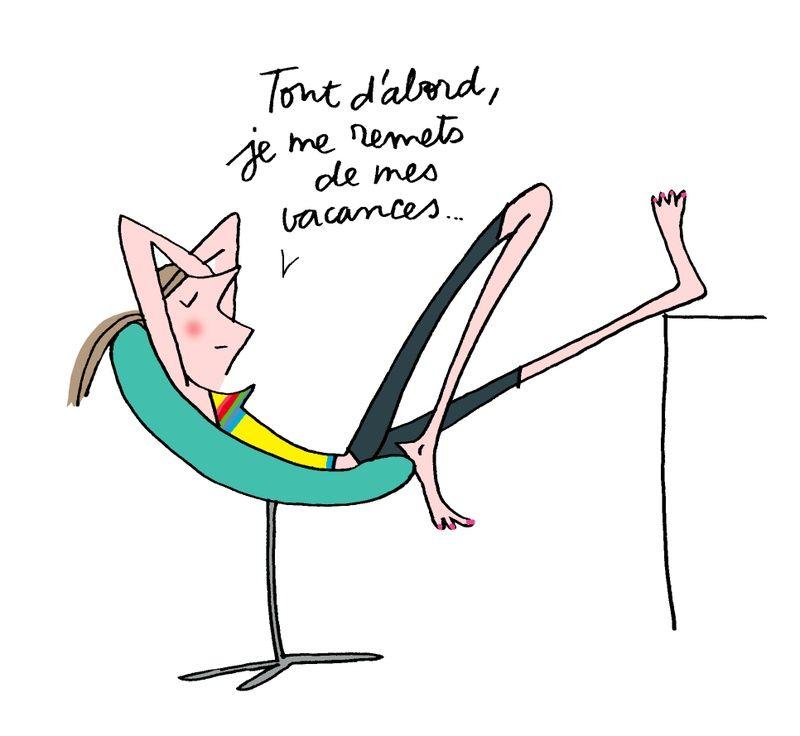 La flemme du chômeur | Dessin humour, Illustration drôle et Humour vacances