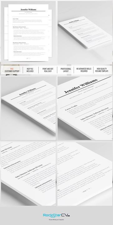 Traditional Resume Template Pinterest Template, Traditional and