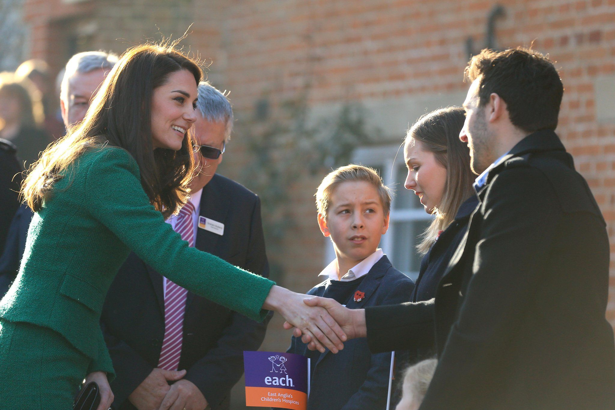 Kate Middleton Drops Everything to Have a Sweet Moment With a Pint-Sized Fan