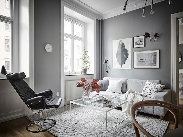 My Scandinavian Home Embracing The Grey Swedish Style Living Room Decor Home Decor Interior