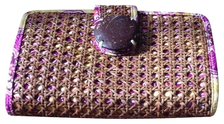 396d47c0182b Vera Bradley Bali Gold Tiki Multiple (floral) Clutch. Get the trendiest  Clutch of
