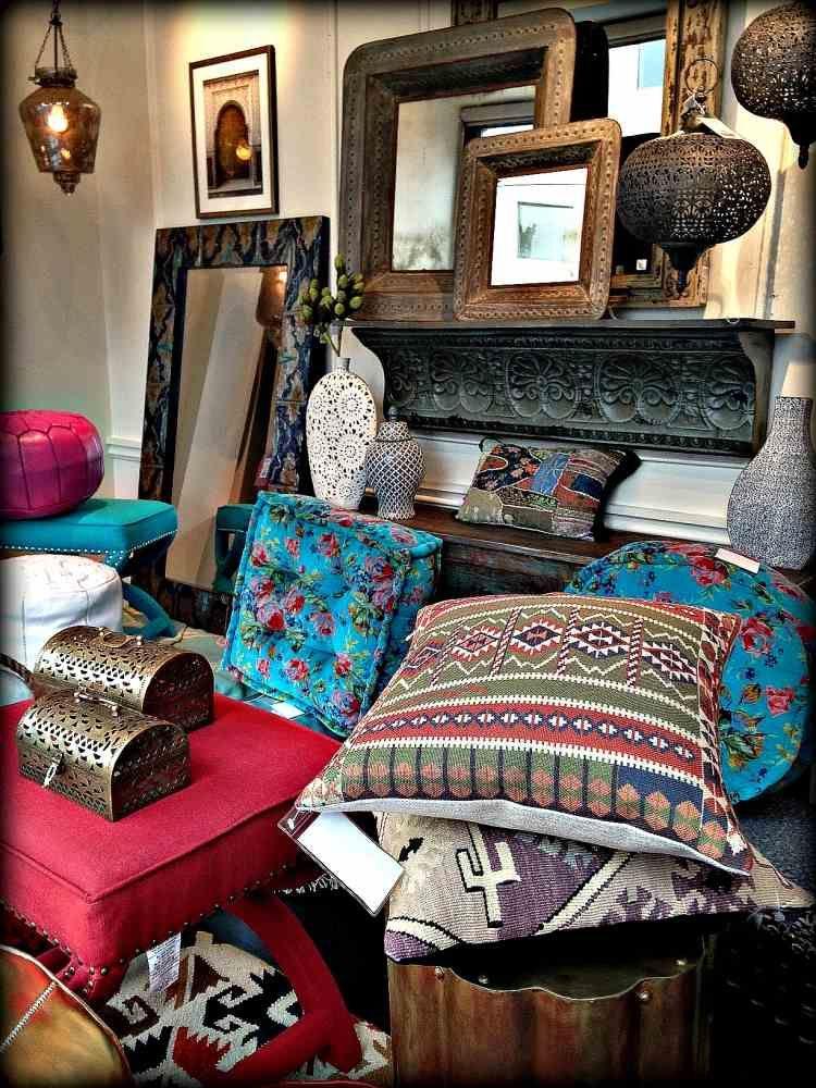 Wohnideen Orientalischer Stil interessante abwechslungsreiche wohnaccessoires und deko im