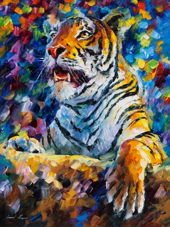Tiger — Limited Edition Animal Wall Art Home Decor Artwork
