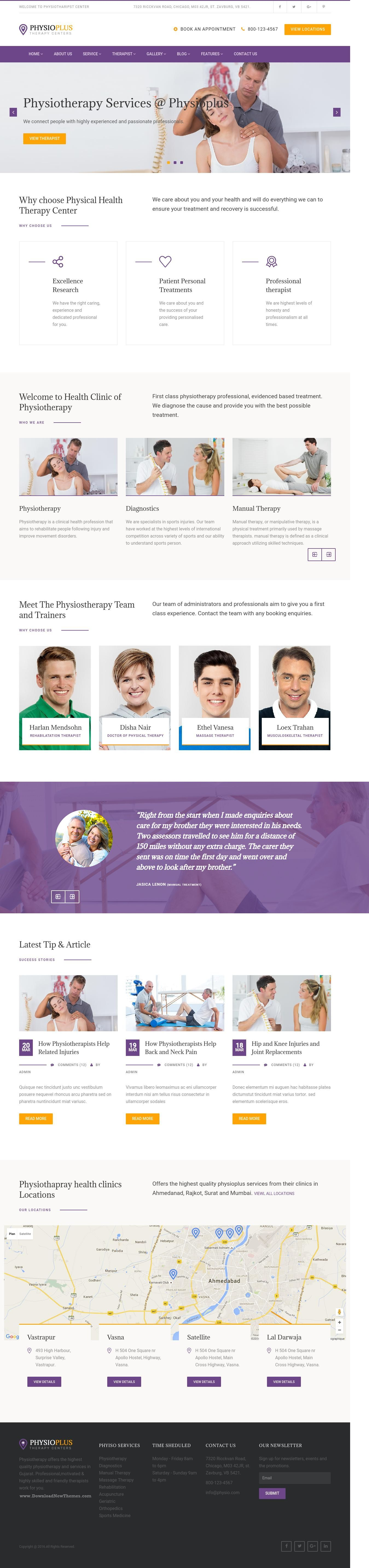 Need a website template for medical or