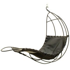Hanging Parrot Cage Chair Designed By Ib Arborg #1stDibs #sculptural
