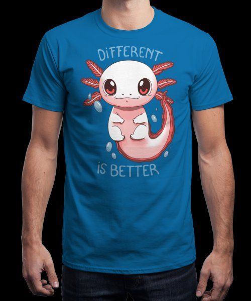 """Different is better"" is today's £9/€11/$12 tee for 24 hours only on Pin this… 