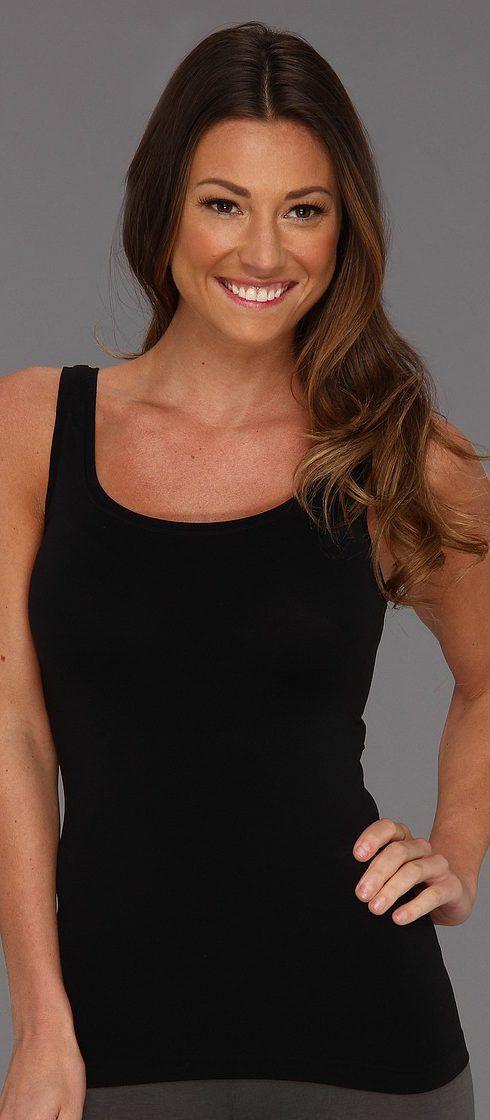 Hanro Touch Feeling Tank Top 1814 (Black) Women's Sleeveless - Hanro, Touch Feeling Tank Top 1814, 1814, Apparel Top Sleeveless, Sleeveless, Top, Apparel, Clothes Clothing, Gift, - Fashion Ideas To Inspire