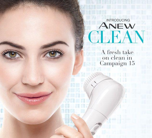 Introducing Avon's ANEW Clean Cleansing Brush! #avon #avonanew #skincare