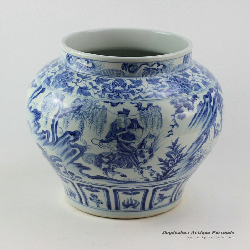 Blueandwhite Ming Reproduction Porcelain Jars Xiaohe Chase Hanxin