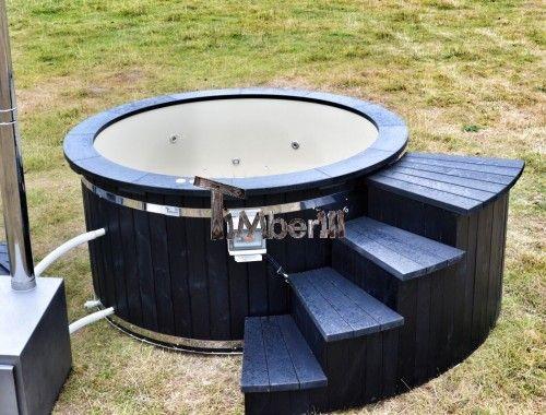 Badestamp i Plast Luksus Svart Modell (17)