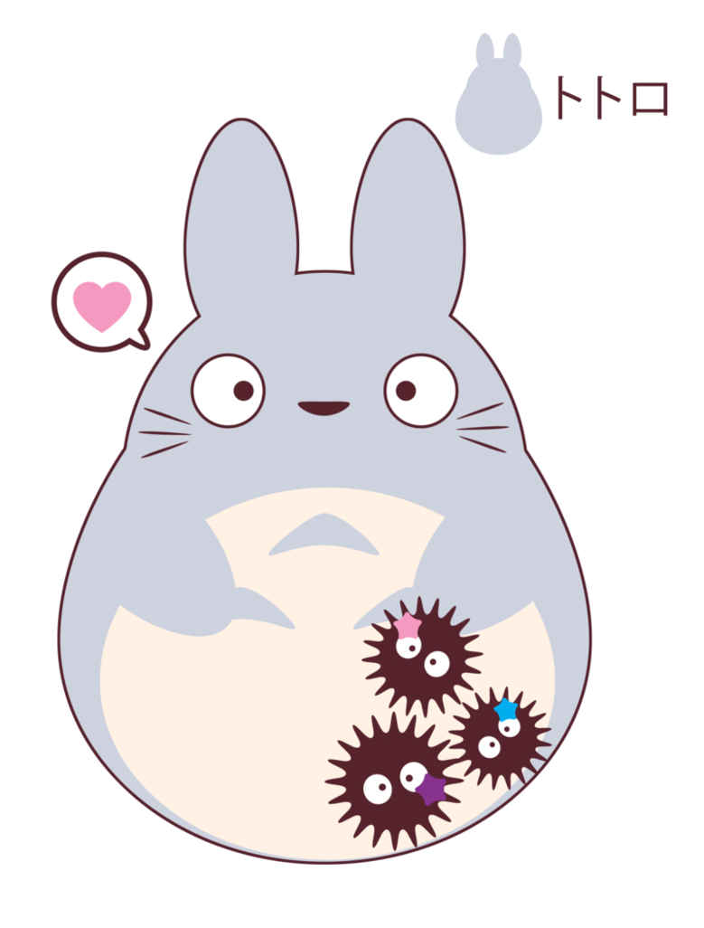 Totoro for FB friend GIFT by ItachiRoxas on